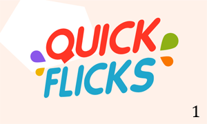 Quick Flicks Logo design 1